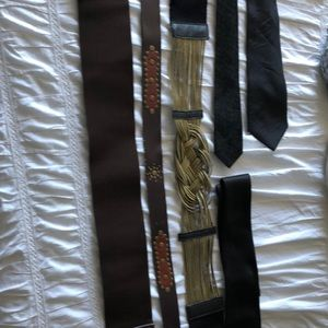 Accessories - Lot of belts and ties